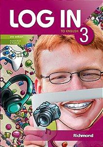 Log In 3 - 2nd Edition - Livro do Aluno + Magazine + Versão para Tablet