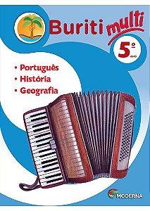 Projeto Buriti Multi Integrado -Português, História e Geografia - 5º ano
