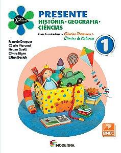 Presente - História, Geografia, Ciências - 1º ano - 5ª edição