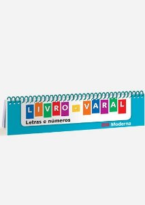 Livro-varal - Letras e números