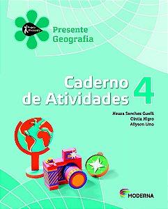 Projeto Presente - Geografia - 4º ano Caderno de atividades