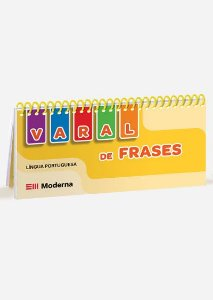 Livro-varal - Varal de frases