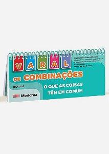 Livro-varal - Varal de combinações