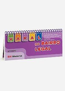 Livro-varal - Varal do bairro legal Livros-varais