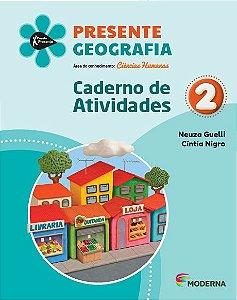 Presente - Geografia - 2º ano - Caderno de Atividades - 5ª edição