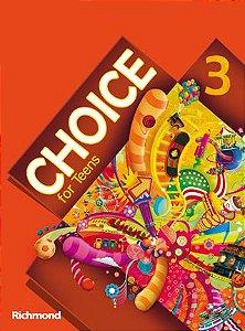Choice for Teens 3 – Livro do Aluno + Versão para Tablet