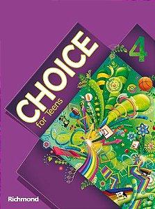 Choice for Teens 4 – Livro do Aluno + Versão para Tablet