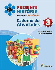 Presente - História - 3º ano - Caderno de Atividades - 5ª edição