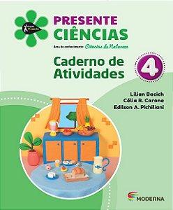 Presente - Ciências - 4º ano - Caderno de Atividades - 5ª edição