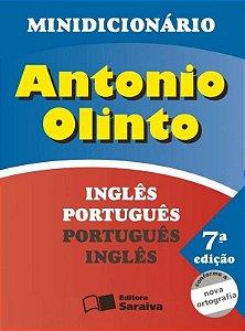 Minidicionário Inglês Português - Português Inglês - Conforme Nova Ortografia