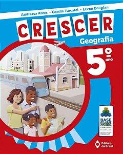 CRESCER GEOGRAFIA - 5 ANO