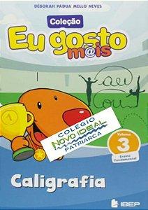 COLÉGIO NOVO IDEAL - CALIGRAFIA 3