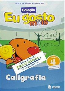 COLÉGIO NOVO IDEAL - CALIGRAFIA 4