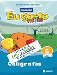 COLÉGIO NOVO IDEAL - CALIGRAFIA 5