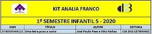 KIT ANALIA FRANCO - 5 INFANTIL 1º SEMESTRE 2020