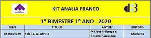 KIT ANALIA FRANCO - 1º ANO - 1º BIMESTRE 2020