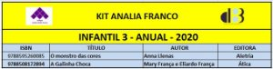 KIT ANALIA FRANCO - 3 INFANTIL ANUAL 2020