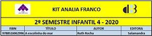 KIT ANALIA FRANCO - 4 INFANTIL 2º SEMESTRE 2020