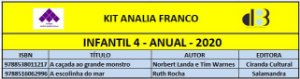 KIT ANALIA FRANCO - 4 INFANTIL ANUAL 2020