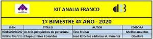 KIT ANALIA FRANCO - 4º ANO - 1º BIMESTRE 2020