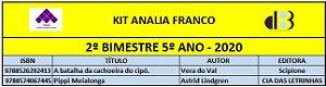 KIT ANALIA FRANCO - 5º ANO - 2º BIMESTRE 2020