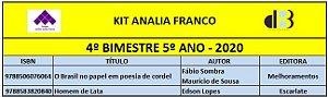KIT ANALIA FRANCO - 5º ANO - 4º BIMESTRE 2020