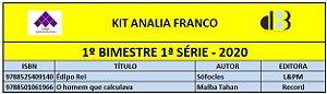 KIT ANALIA FRANCO ENSINO MÉDIO - 1ª SÉRIE - 1º BIMESTRE 2020