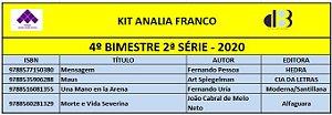 KIT ANALIA FRANCO ENSINO MÉDIO - 2º SÉRIE - 4º BIMESTRE 2020