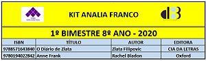 KIT ANALIA FRANCO - 8º ANO - 1º BIMESTRE 2020