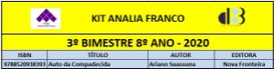 KIT ANALIA FRANCO - 8º ANO - 3º BIMESTRE 2020