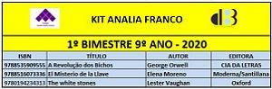 KIT ANALIA FRANCO - 9º ANO - 1º BIMESTRE 2020