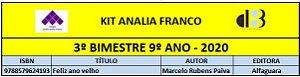 KIT ANALIA FRANCO - 9º ANO - 3º BIMESTRE 2020