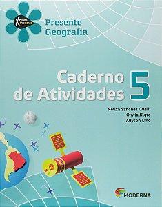 Projeto Presente. Geografia. Caderno de Atividades. 5º Ano