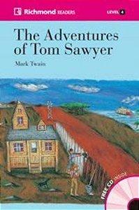 The Adventures of Tom Sawyer - Coleção Richmond Readers. Level 4 (+ CD-Audio)