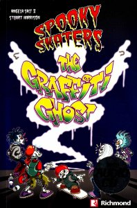 Spooky Skaters. The Graffiti Ghost