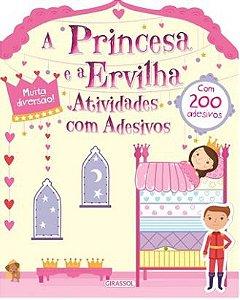 A PRINCESA E A ERVILHA - ATIVIDADES COM ADESIVOS