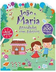 João e Maria - Atividades com adesivos