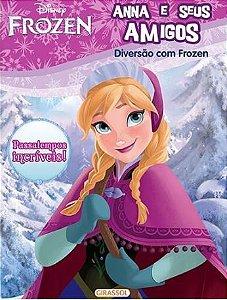 Anna e seus amigos - Disney Diversão com Frozen