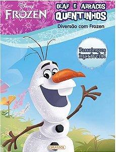 Olaf e abraços quentinhos - Disney Diversão com Frozen