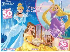 Princesas do Coração - Ler & Pintar