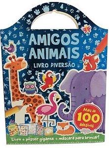 Amigos animais Livro diversão