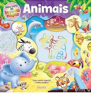 Animais -  Meu livro de desenho mágico