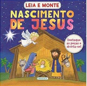 Nascimento de Jesus - Leia e monte