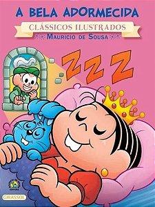 A Bela Adormecida Coleção Turma da Mônica Clássicos Ilustrados