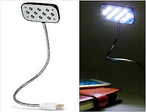 Lâmpada USB Portátil 10-LED