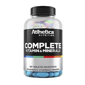 Complete Multi Vitaminico A A Z 100 Tabs Atlhetica Vitaminas