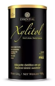 Xylitol Adoçante Natural Xilitol Essential Nutrition 900g