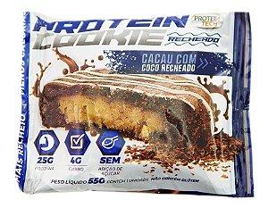 Cookie Com Whey Protein Tech Cacau Com Recheio De Coco