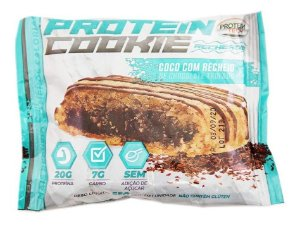 Cookie Proteico Protein Tech Coco Com Recheio Chocolate