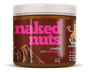 Pasta De Avelã Com Chocolate - Naked Nuts 450g